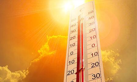 Ziegelhäusern bieten das beste Raumklima auch bei Sommerhitze