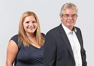 Geschäftsleitung Markus Pichler mit Tochter Claudia Ecker